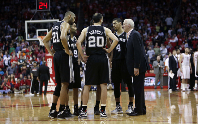 The Spurs are still dominating the Western Conference.  (USATSI)