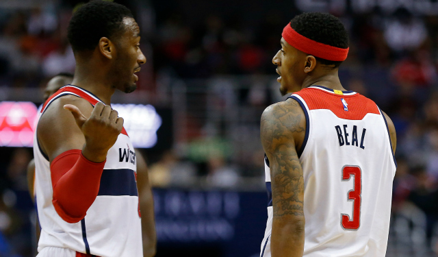 John Wall and Bradley Beal say they're the best backcourt.  (USATSI)