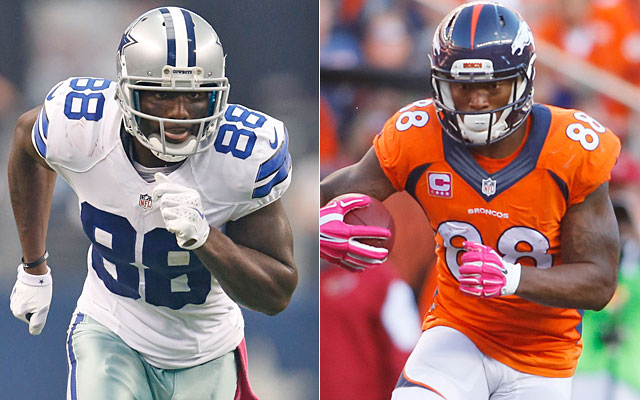 Why Receivers Dez Bryant Demaryius Thomas Will Likely Get