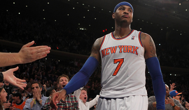 Are the Knicks digging too deep of a hole as Carmelo says? (USATSI)