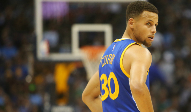 Steph Curry is still on pace for over 400 makes. (USATSI)