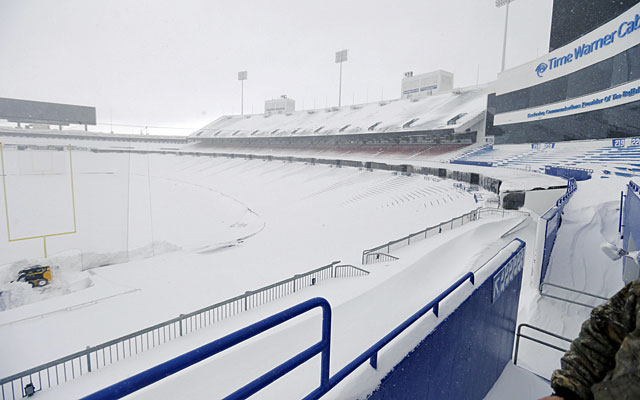 The weather conditions in Buffalo is forcing the league to make contigency plans. (USATSI)