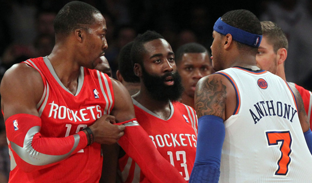 Carmelo Anthony: Dwight Howard lobbied hard to get him in Houston