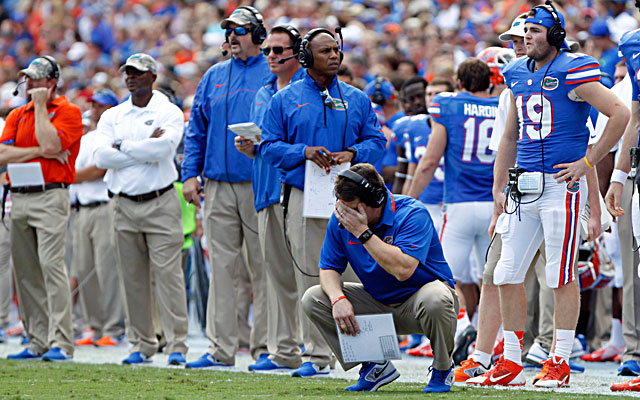 Did losing to Georgia Southern seal Will Muschamp's fate at Florida? (USATSI)