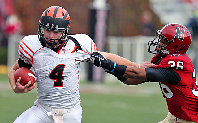 Quinn Epperly has led Princeton to an 8-2 record and a share of the Ivy League title. (Getty)
