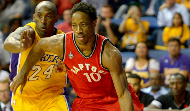DeMar DeRozan reflects on Kobe Bryant