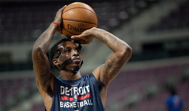 Jennings will make his debut for the Pistons on Sunday. (USATSI)