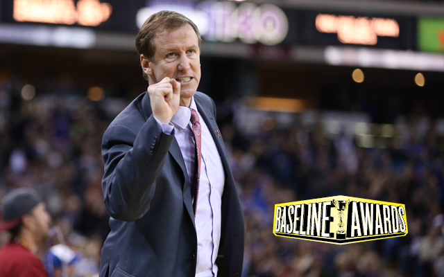 Terry Stotts could be Coach of the Year this season. (USATSI)