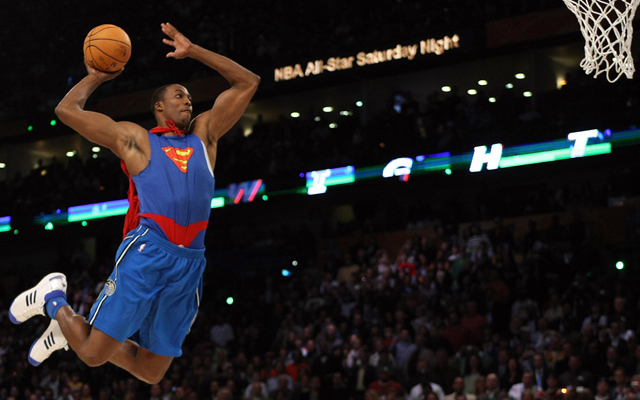 Dwight Howard won't repeat his 2008 dunk contest performance. (USATSI)