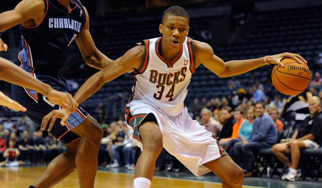 The Greek Freak, Giannis Antetokuonmpo, was really the only bright spot for the Bucks. (USATSI)