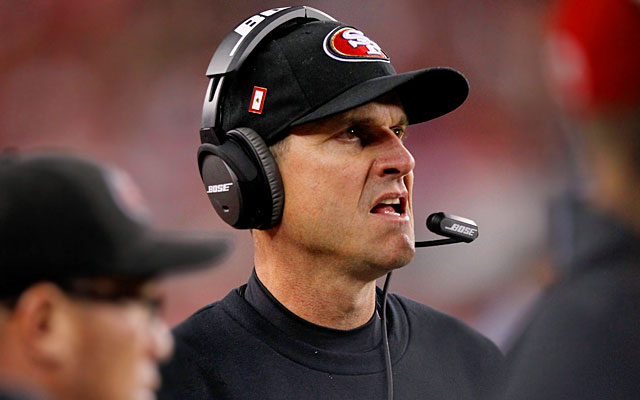 Jim Harbaugh apparently wants to stay in the NFL. (USATSI)