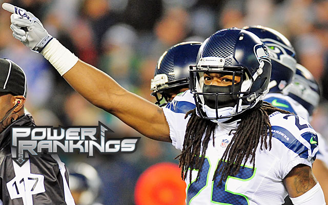 Richard Sherman and the Seahawks defense are coming together at the right time. (Getty)