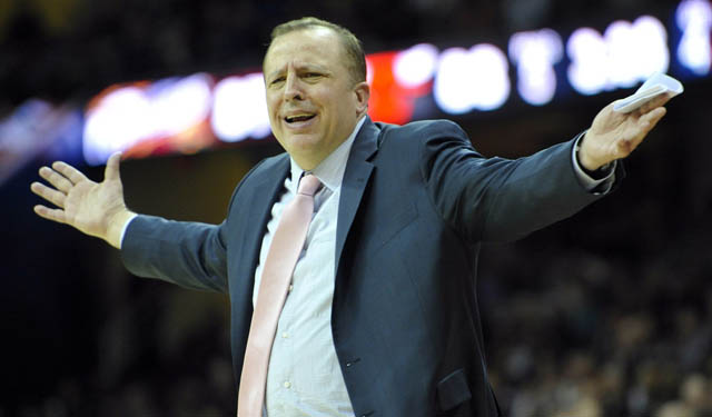 Could the Knicks be eyeing Tom Thibodeau as their next guy? (USATSI)