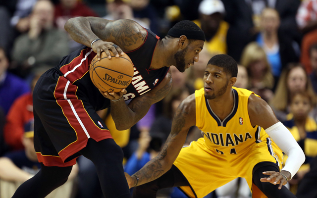 LeBron James, Paul George  (USATSI)
