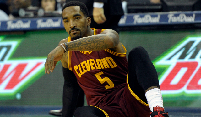 All J.R. Smith wanted for Christmas was to hand the Warriors first ... 1f1b5013b