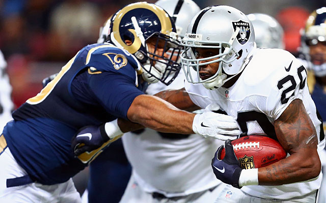 Both the Rams and the Raiders have their sights set on Los Angeles. (Getty)