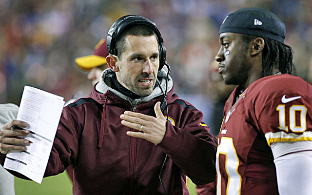 Kyle Shanahan apparently rubs many people within the Redskins organization the wrong way. (USATSI)