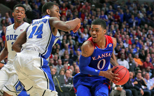 Kansas has a neutral-court wins over No. 8 Duke and New Mexico this season. (USATSI)