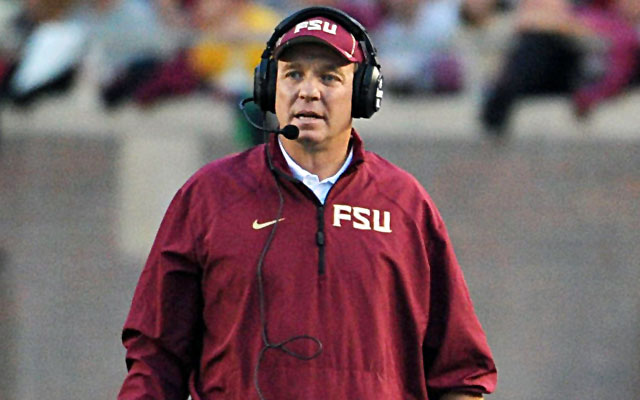 Jimbo Fisher has reportedly signed a new contract with Florida State.  (USATSI)