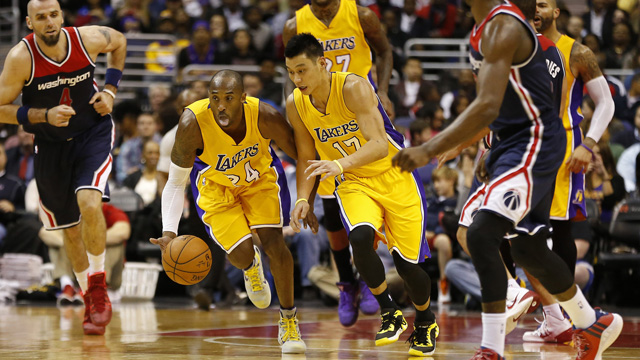 Lakers' Jeremy Lin on game winners: 'I would love to shoot some'