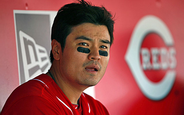 Shin-Soo Choo had a .423 on-base percentage last season with the Reds. (USATSI)