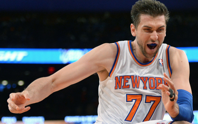Andrea Bargnani is out indefinitely. (USATSI)