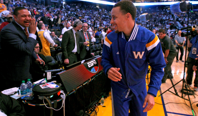 Mark Jackson & his bizarre comment about Steph Curry as a role model