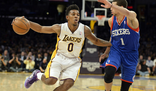Is it time for the Lakers and Sixers to get serious about this? (USATSI)