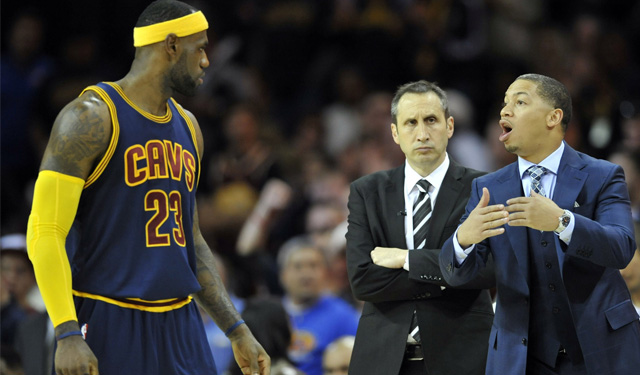 Report: LeBron James won't hesitate to leave Cavs if 'hand ...