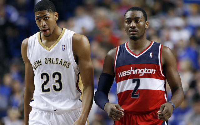 Anthony Davis and John Wall should be All-Stars. (USATSI)