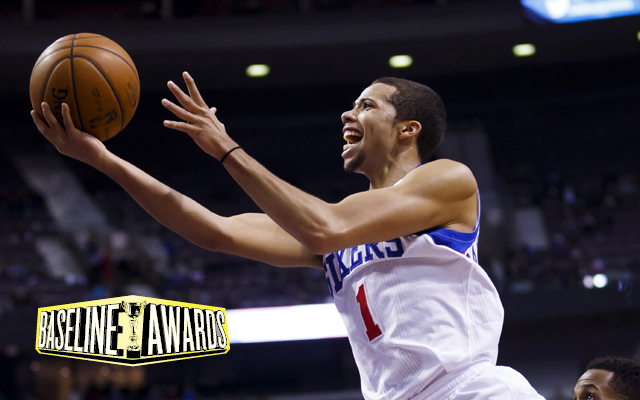Michael Carter-Williams has surprised people for the 76ers.  (USATSI)