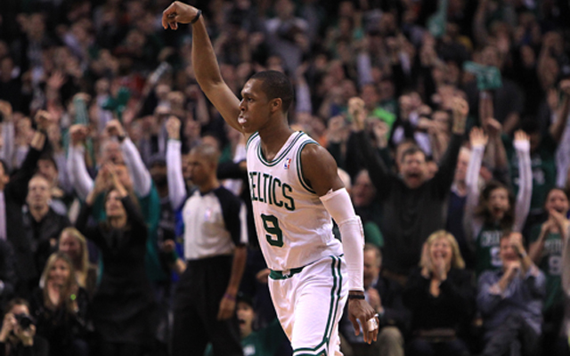 The Celtics have talked with the Mavericks about a possible trade of Rajon Rondo.    (USATSI)
