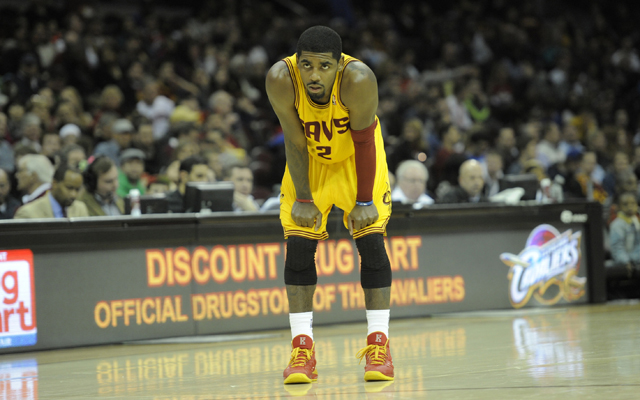 Irving will not travel to Brooklyn with the team for Saturday's game. (USATSI)