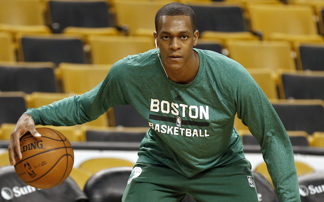 Rondo wants to play so badly that the D-League sounds good to him. (USATSI)