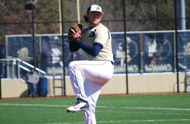 Dowling College's Tyler Badamo is on a roll this season. (Dowling Coll.)