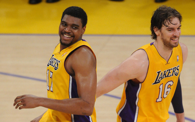 Bynum could be headed back to Lakers for Pau. (USATSI)