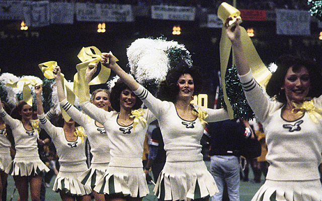 The Philadelphia Eagles cheerleaders, circa 1981.