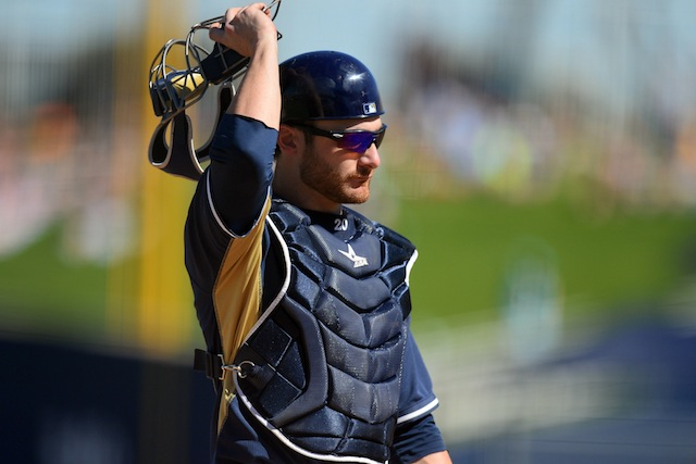 Something we like about the 2014 Brewers: catcher Jonathan Lucroy. (USATSI)