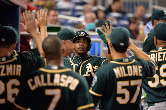 The 2014 A's are good at baseball -- everything having anything to do with baseball. (USATSI)
