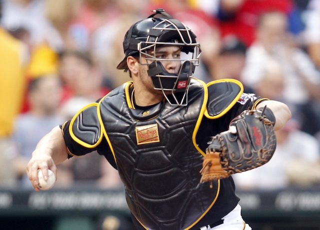 Something we like about the Pirates? Russell Martin's work behind the plate. (USATSI)
