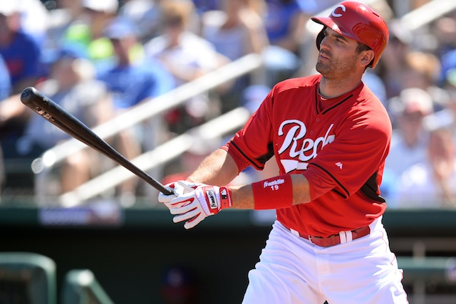 Something we like about the Reds? Joey Votto, of course. (USATSI)