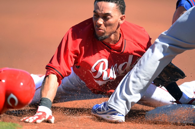 Since we're laying numbers on the 2014 Reds, we'll probably have something to say about Billy Hamilton. (USATSI)