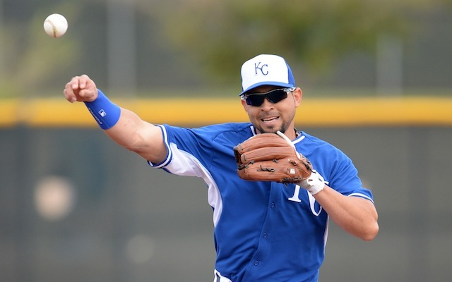 Omar Infante is something we like about the Royals in 2014. (USATSI)