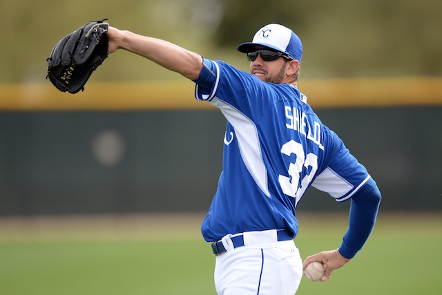 How many wins does James Shields have in him for 2014? (USATSI)