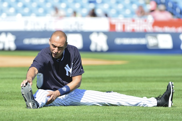 Limber up, Derek Jeter, you're part of Over/Unders. (USATSI)