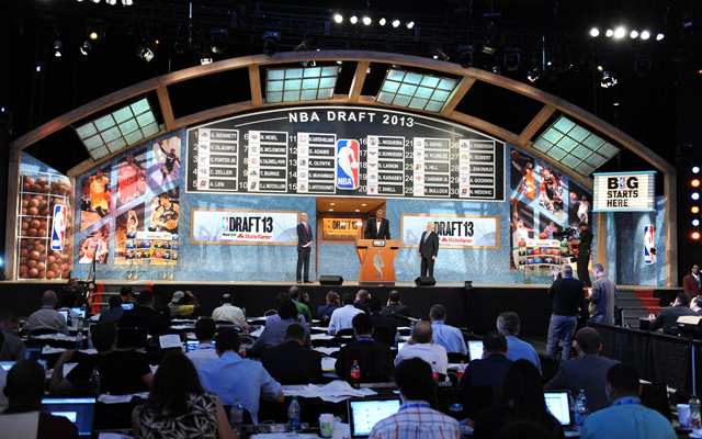 The NBA lottery and first round order is set.  (USATSI)
