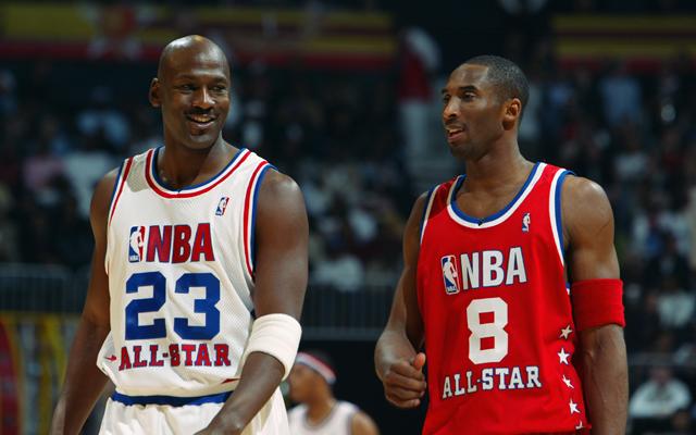 lowest price dfb36 2716f Michael Jordan takes Kobe Bryant over LeBron James ...