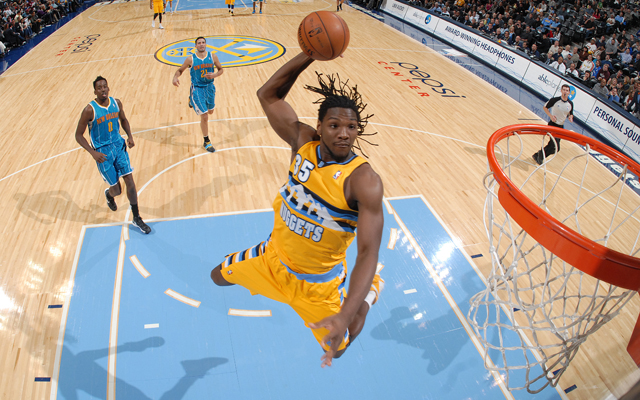 Faried hopes to play in Game 1.   (Getty Images)
