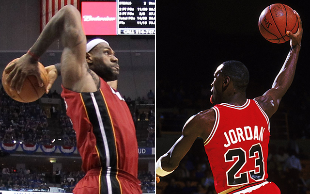LeBron James wishes he was closer with Michael Jordan