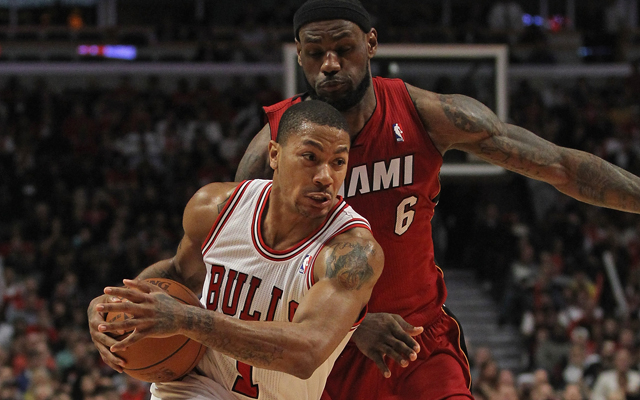 Derrick Rose says he's gained 10 lbs. of muscle. (USATSI)